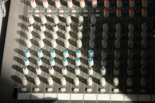 Amplifier, Audio, Dynacord, Mixer, Music, Power