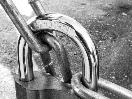 Padlock, Lock, Metal, Iron, Works, Safety, Strong