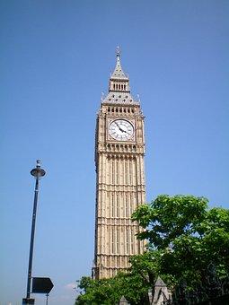 England, London, Building, Big Ben, Oratorony, Hour S