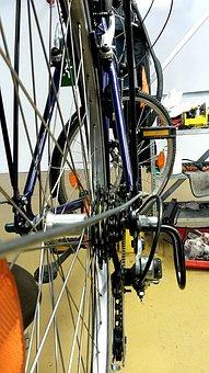 Bike, Chain Gear, 6-gang-kasette, Rear Wheel