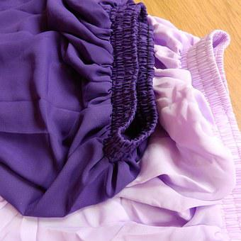 The Substance, Clothing, Purple, Detail, Chiffon, Gum