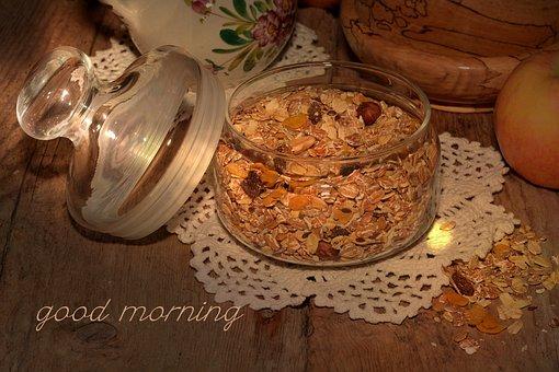 Muesli, Breakfast Cereal, Breakfast, Healthy, Delicious