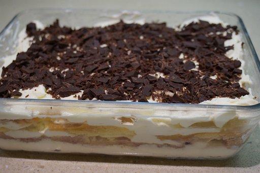 Tiramisu, Chocolate, Dessert, Sweet, Cream, Mascarpone