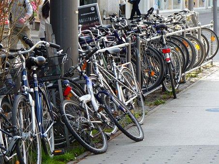 Bikes, Build Up, Accumulation, Sport, Exercising
