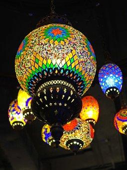 Lanterns, Moroccan, Lighting, Bright, Decoration