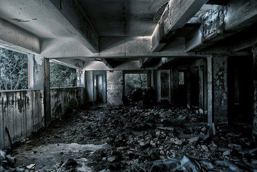 Tunnel, Light, Dark, Basement, Exit, Fear, Dirty
