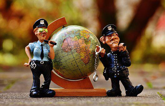 Security, Global, Worldwide, Police, Social Networking