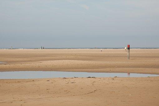 Wave, Beach, Sand, Sea, Holiday, Sun, Wind, Ebb, Flood