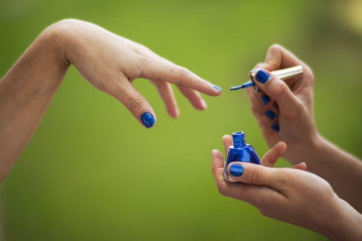 Green, Blue, Finger, El, Lacquer, Luxury, Relaxation