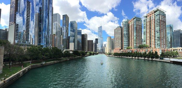 Architecture, Buildings, Business, Chicago, City