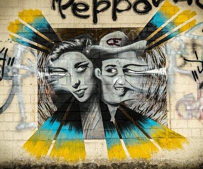 Wall, Graffiti, Colorful, Street Art, Art, Color