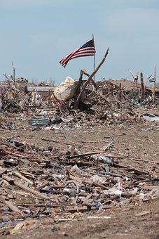 Moore, Oklahoma, Tornado, Disaster, Ruin