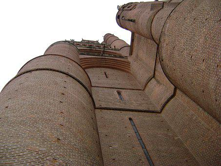 France, Church, Brick, Albi, Europe, Architecture