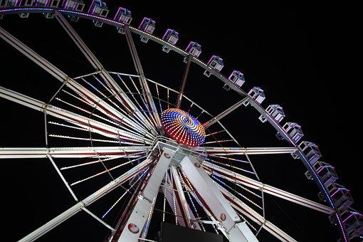 Ferris Wheel, Kramer Market, Free Market, Year Market