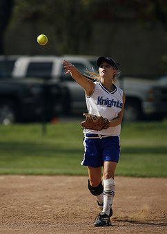 Softball, Player, Throwing, Ball, Game, Competition