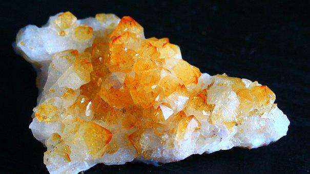 Citrine, Crystal, Stone, Quartz, Gem, Mineral, Gemstone