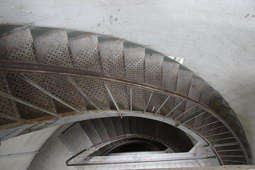 Stairs, Metal, About, Security, Gradually