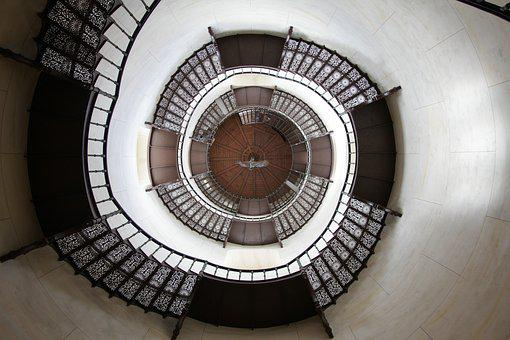 Stairs, Hunting Lodge, Rügen, Staircase