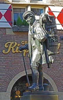 Monument, Kiepenkerl, Münster, Historically, Market