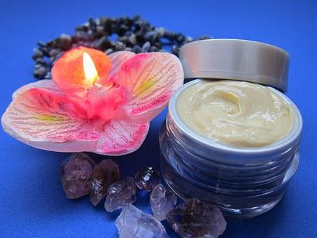 Skin Care, Cream, Luxury, Candle, Skincare, Relaxation