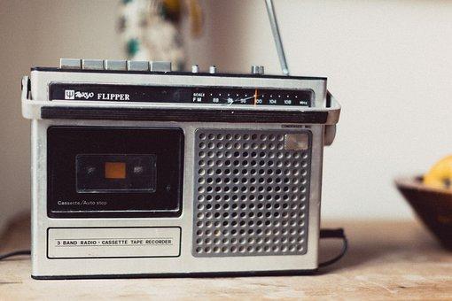 Radio, Vintage, Retro, Music, Old, Sound, Audio, Media