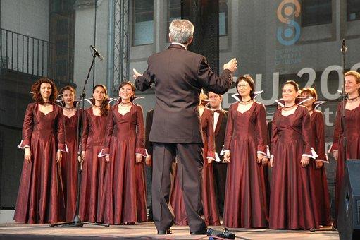 Chorus, Stage, Music, Musical, Performance, Singer