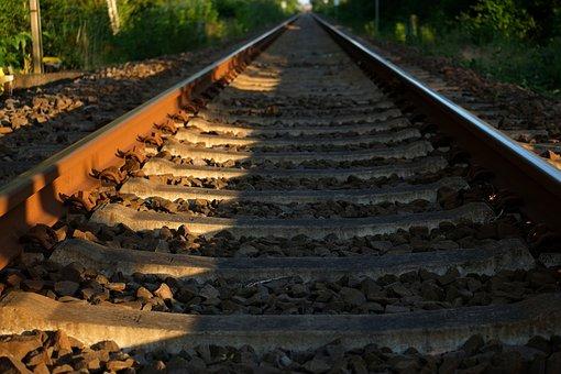 Track, Railway, Seemed, Railroad Tracks, Railway Rails