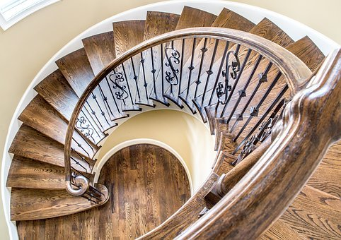 Real Estate, Luxury, Home, Trim, Residential, Stairway