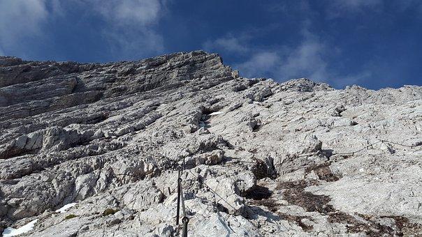 Alpspitze, Climbing, North Face Ferrata, Rock, Climb