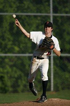 Baseball, Player, Game, Throwing, Throw, Sport
