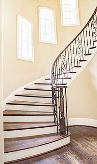 Luxury Real Estate, Stair, Winding, Architecture