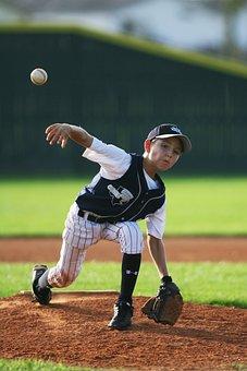 Baseball, Pitcher, Youth League, Mound, Pitch, Pitching