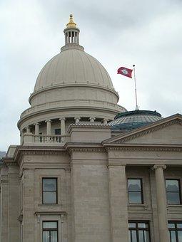 Capitol Building, Arkansas, Dome, Usa