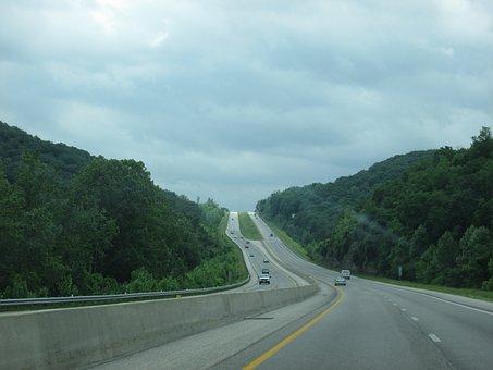 Travel, Highway, Vacation, Scenic, Road, Arkansas