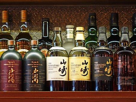 Bar, Yamazaki, Togouchi, Japanese Blended, Liquor
