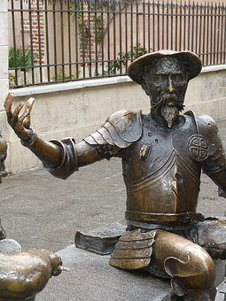 Don Quijote, La Mancha, Spain, Monument, Statue, Fig