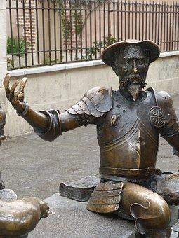 Don Quijote, La Mancha, Spain, Monument, Statue, Fig