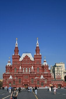 Kremlin, Red Square, Blue Sky, State History Museum