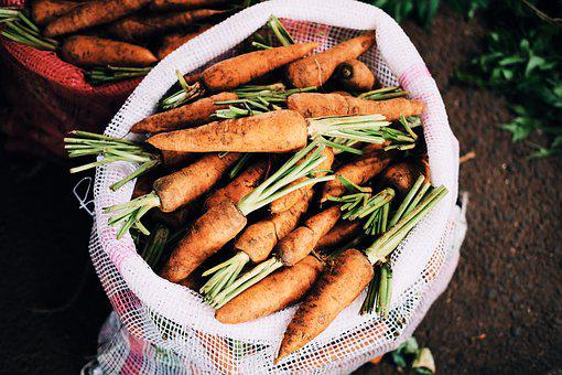 Carrots, Food, Fresh, Vegetables