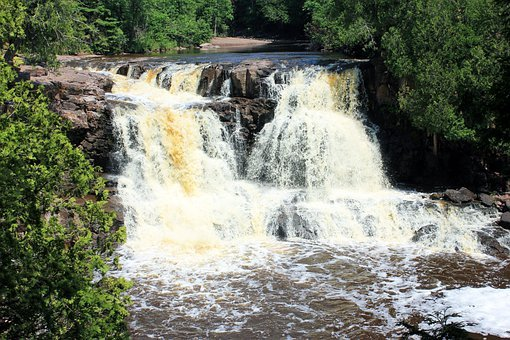 Gooseberry Falls, Waterfalls, Usa, Minnesota