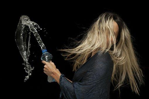 Water, Model, Women's, Fiction, Exposure, People