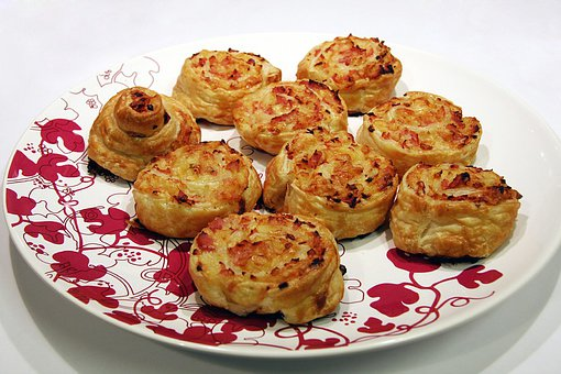 Puff Pastry, Snack, Puff Pastry Appetizers