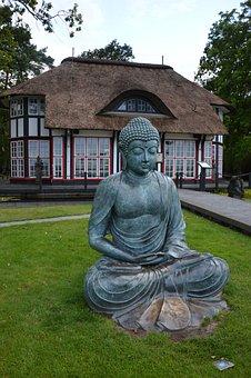 Art, Buddha, Sculpture, Japanese Home