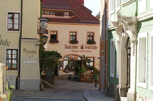 Bautzen, Germany, City, Buildings, Building