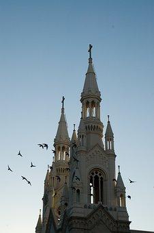California, San Fransisco, Church, Historical, Monument