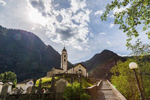 Church San Gregory, Church, Soazza, Misox