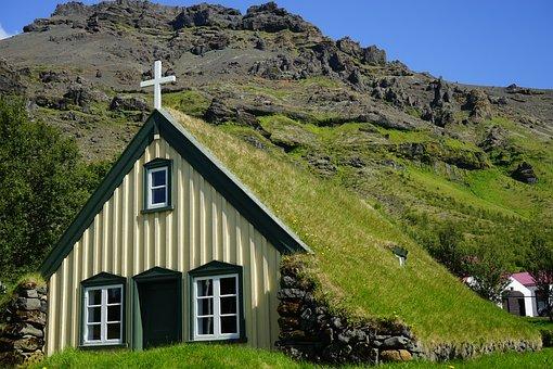 Hofskirkja, Iceland, Church, Chapel, House Of Worship