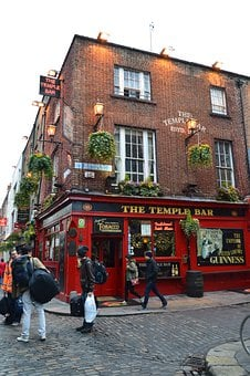 The Temple Bar, Dublin, Bar, Ireland, City