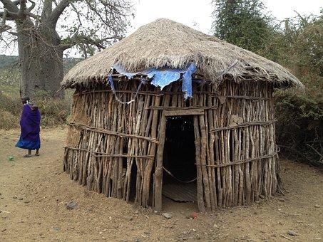 Hut, Dwelling, Africa, Rustic, Travel, Tribe, Rural