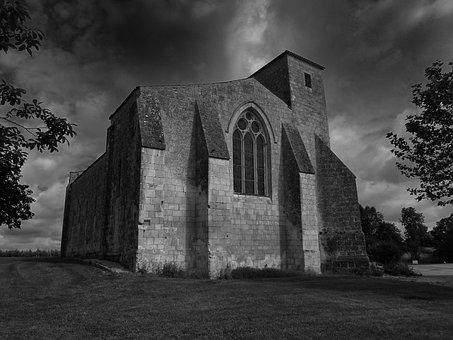 Saint-leger, France, Church, Building, Architecture